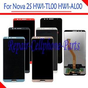 Image 2 - Dành Cho Huawei Nova 2 S Full Màn Hình Hiển Thị LCD + Tặng Bộ Số Hóa Cảm Ứng Dành Cho Huawei Nova 2 S HWI AL00 HWI TL00 số Theo Dõi
