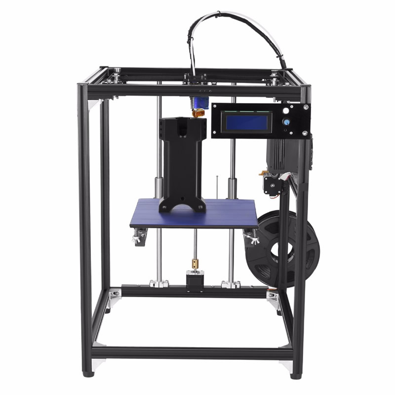 big size 245*218*320mm Upgrade  Aluminium 3D printer  corexy structure 3D printer Kit with 50g PLA Filament