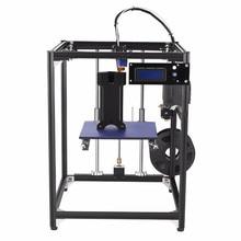 big size 245*218*320mm Upgrade  Aluminium 3D printer  corexy structure 3D printer Kit with 50g PLA Filament