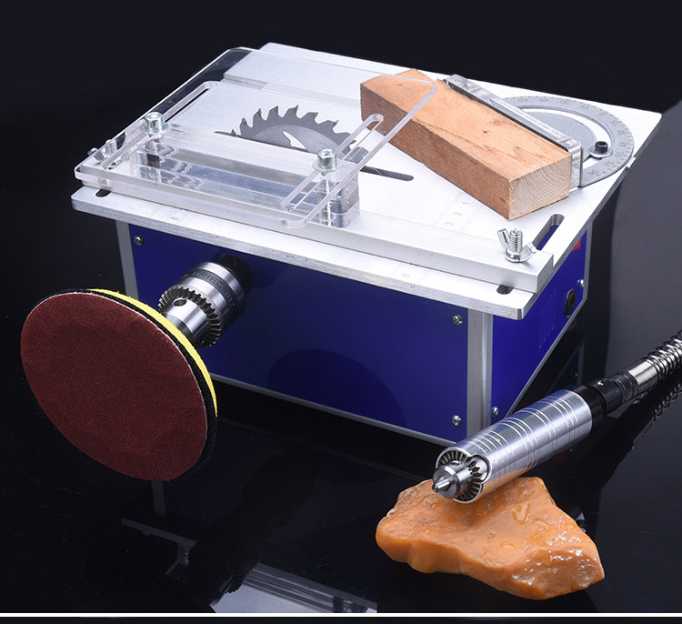 Four Generations of Mini Table Saw Micro Small Table Saw Diy Woodworking Saws Small Cutting Polished