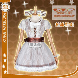 [Акции] 2018 аниме Love Live! Солнце! Aqours концерт Азалия Kanan Matsuurra форма Косплэй костюм для Хэллоуина Бесплатная доставка