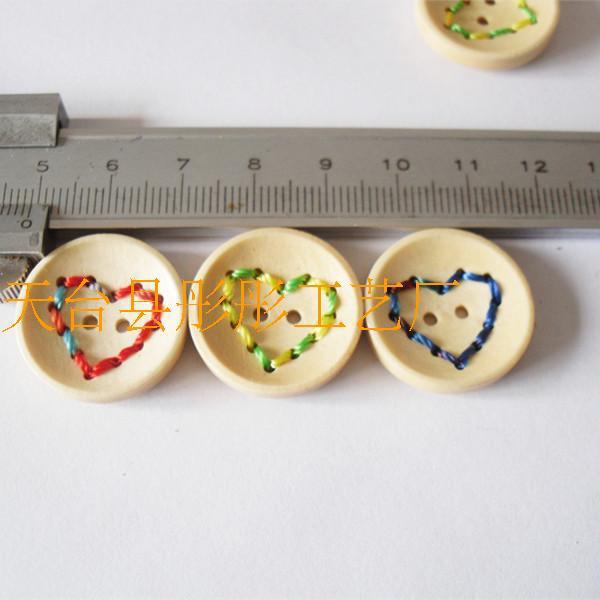 100 шт DIY ручной аксессуар ручной работы деревянная кнопка для сушки лака веревка Togie кнопки 2,3 см в диаметре