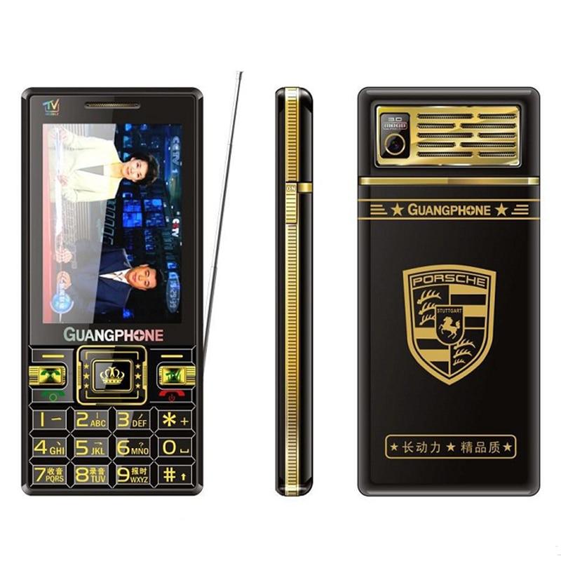 Емкостный Сенсорный экран Большой Русская клавиатура Bluetooth Tachoraph аналоговый ТВ старший мобильный телефон почерк для людей полем