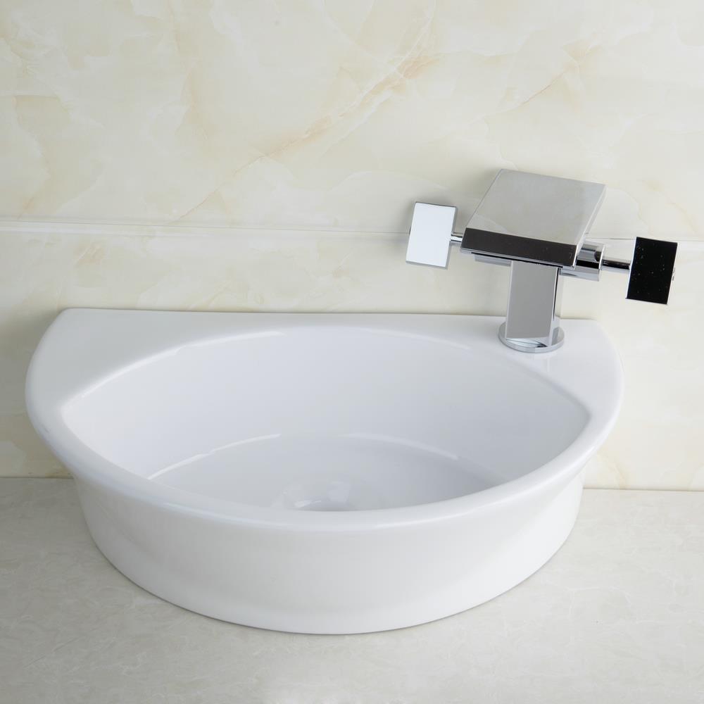 Hello Bathroom Countertop Ceramic Basin Sink Faucet Set Bacia Torneira Da  Pia TW32048365B Wash Basin Vanity