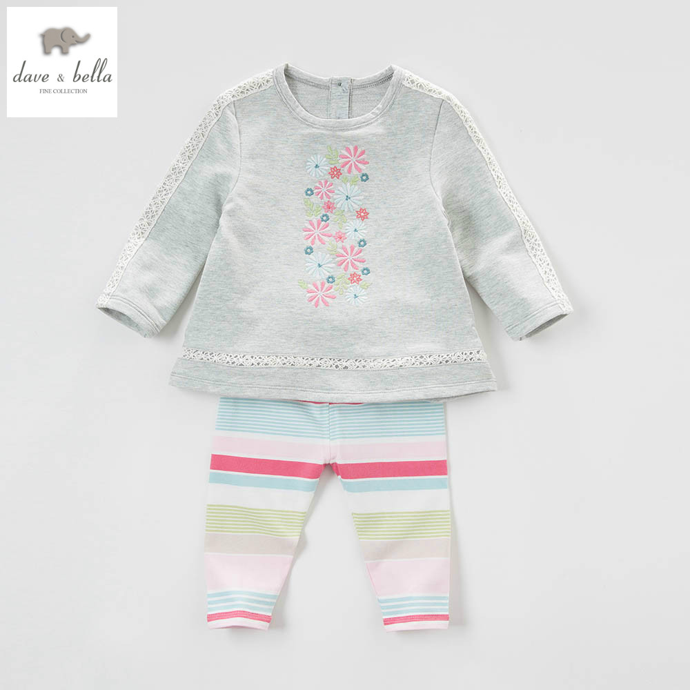 DB4311 dave bella spring baby girls fancy clothing sets kids floral clothing sets with ruffle girl boutique sets db5192 dave bella summer baby girls fashion clothing sets kids stylish clothing sets toddle cloth kids sets baby fancy clothes