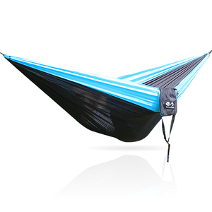 Image 4 - 11.11 Promotion  320*200cm Large Size Hammock For 2 With   Carabiners For Outdoor Camping Sleeping Hanging Bed Hamak