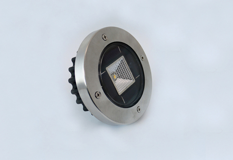 20 pcs novo led solar lampadas subterraneas