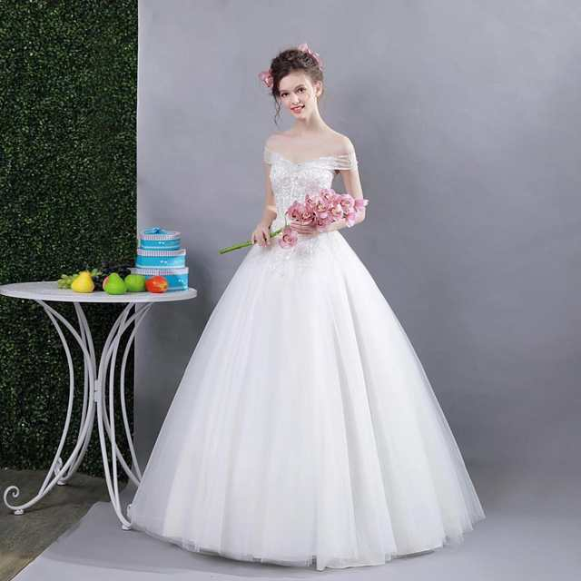5fd0931af5f Online Shop Beauty Emily White Sequined Beading Deep V-neck Ball Gwon Plus Size  Wedding Dresses 2017 Bridal Wedding Party Sexy Dresses