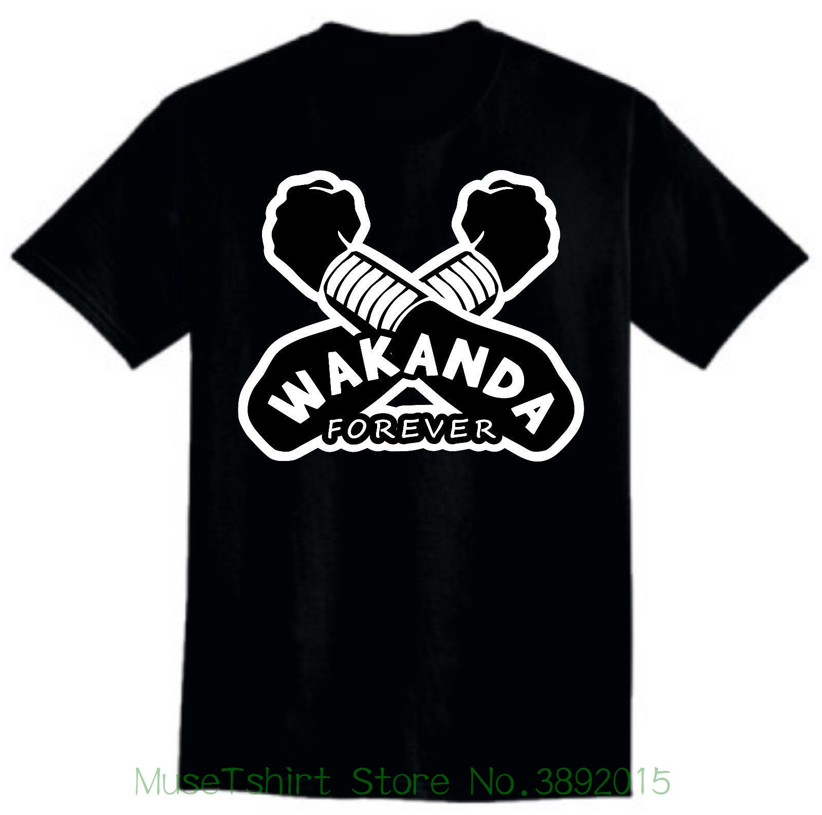 Straight Outta Wakanda T-shirt Wakanda , Black Panther Shirt Men Women Kid Shirt Men New High Quality