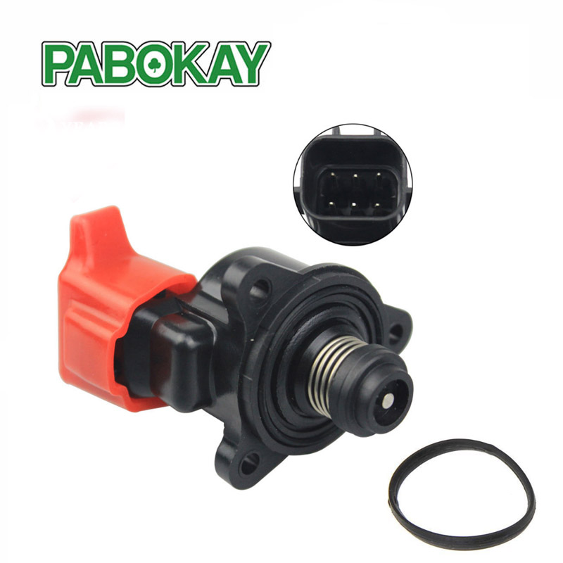 Idle Air Control Valve AC571 For Mitsubishi Dodge 6 Pin AC571 2.4L Fast Shipping