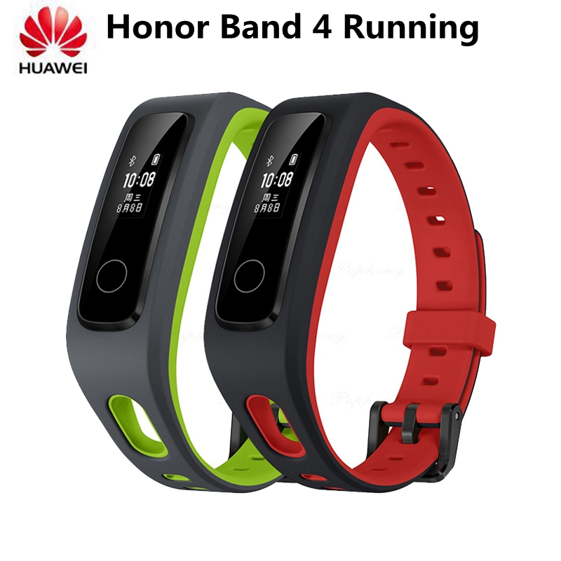 Original Huawei Honor Band 4 Running Version Smart Bracelet Fitness Tracker Shoe-Buckle Professional Activity Tracker In Stock