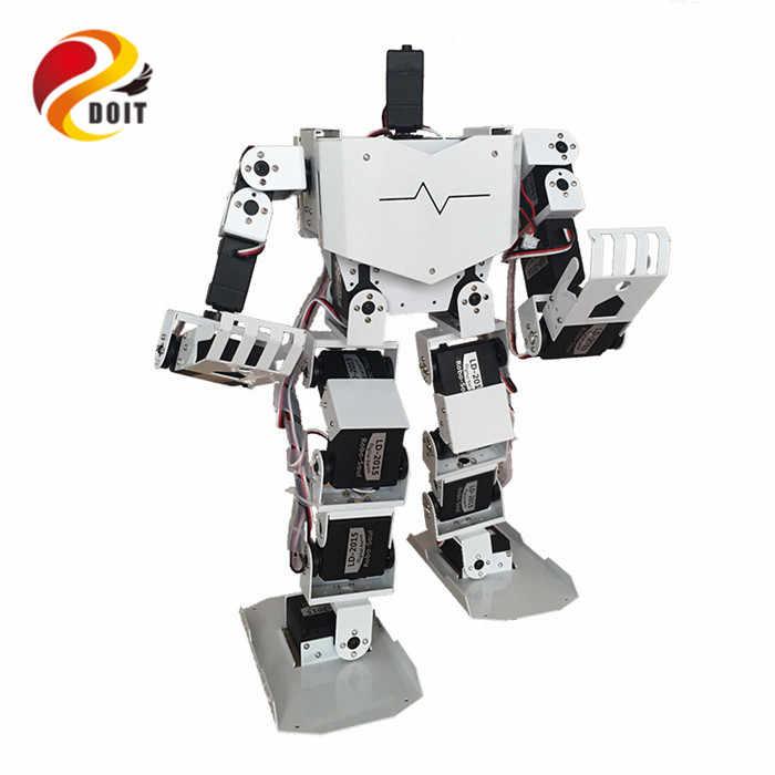 Официальный DOIT 19DOF робота-гуманоида все в одном робот-Soul H3.0-19S конкурс Танец робота Двуногого робот Платформа с сервоприводы