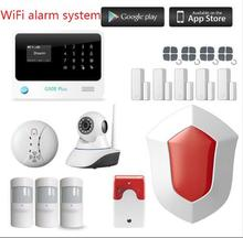 Wireless GSM Home House Security Burglar Intruder Alarm System