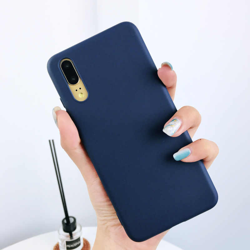 For Xiaomi 9 SE Play MIX 3 6x Note 6 8 case Coque candy Color matte TPU Silicone case for Redmi go 7 Note 7 S2 5A 6A 6pro cover