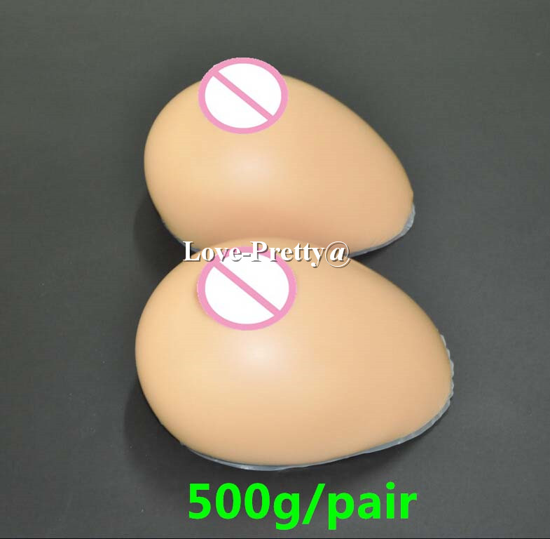 500 G A Cup Silicone Breast Forms For Women Silicon Breast -4761