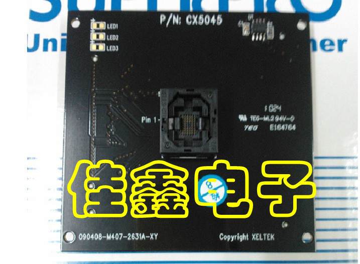 Livraison gratuite adaptateur IC test SUPERPRO/50005000E programmeur avec DX5045CX5045/BGA56Livraison gratuite adaptateur IC test SUPERPRO/50005000E programmeur avec DX5045CX5045/BGA56