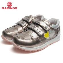 QWEST брендовые кожаные стельки дышащий арки детская спортивная обувь Hook & Loop Размеры 27-32 детские кроссовки для мальчика 91P-XY-1162