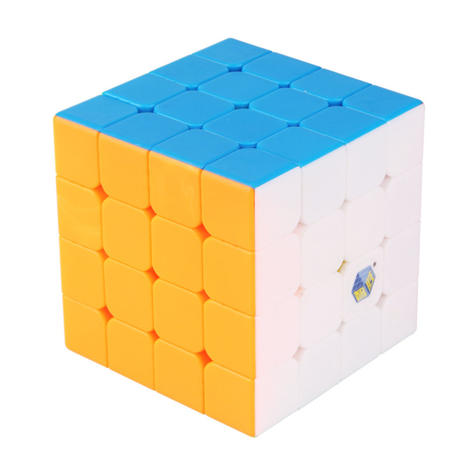 Yuxin 4x4 Cube Zhisheng 4x4x4 Stickerless Magic Cube 4Layers Speed Cube Professional Puzzle Toys For Children Kids Gift