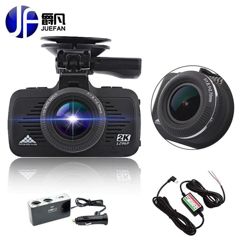 Ambarella A7LA70 Car DVR Camera GPS with Speedcam 1296P Full HD 1080p 60Fps DVR Recorder Dash Cam Night vision auto camera mini