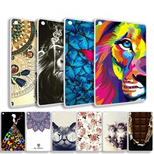 цена на Painted Cover Case for Amazon Fire HD 10 HB10 (5th/7th Generation 2015/2017 Release) Slim Silicon Soft TPU Tablet Case Bags