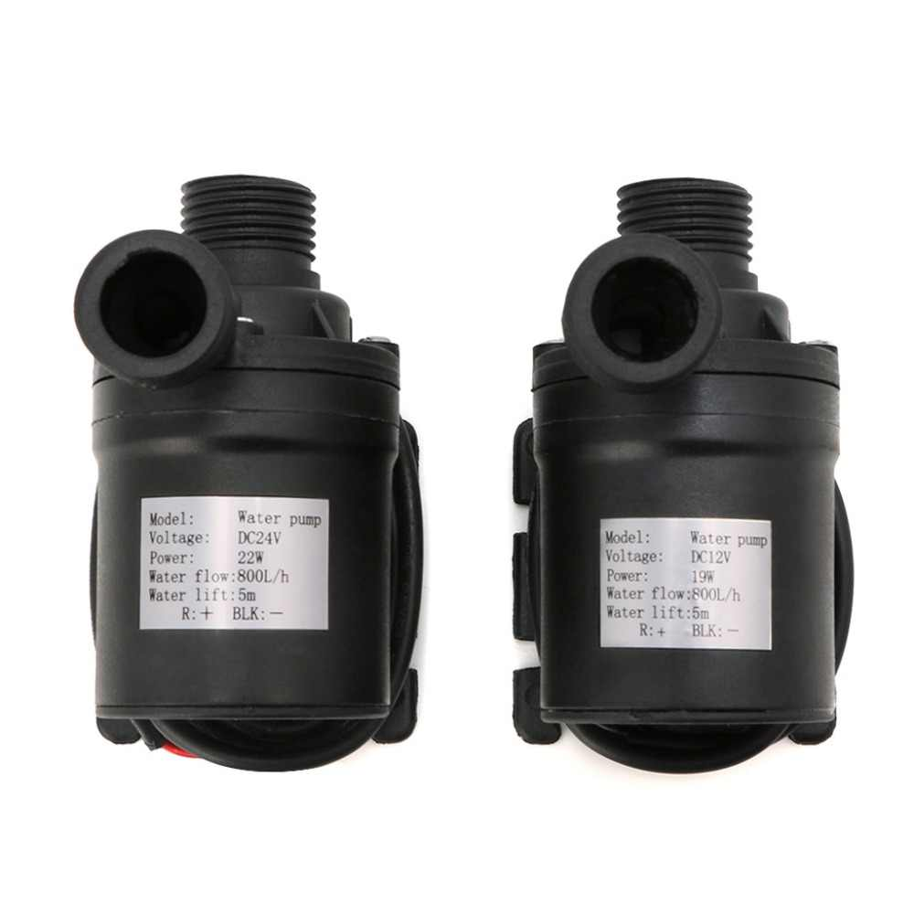800L/H 5 M Dc 12V 24V Solar Brushless Motor Water Circulatie Waterpomp Submersibles Water Pompen