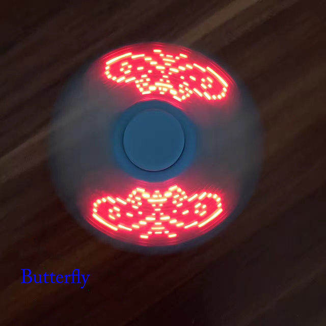 LED Word Fidget Spinner