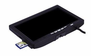 Eyoyo魚釣り用魚釣りカメラEYOYO用の録画機能DVRを備えたシングル7 LCDモニター