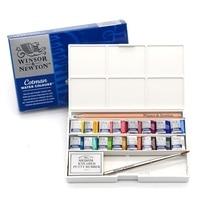WINSOR&NEWTON 16 colors cotman Water colors Paint Painter solid Watercolor pigment Art Drawing Supplies
