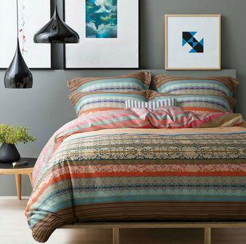 Nieuwe 100 katoen ikea casa boho beddengoed set - Ikea ropa de cama colchas ...