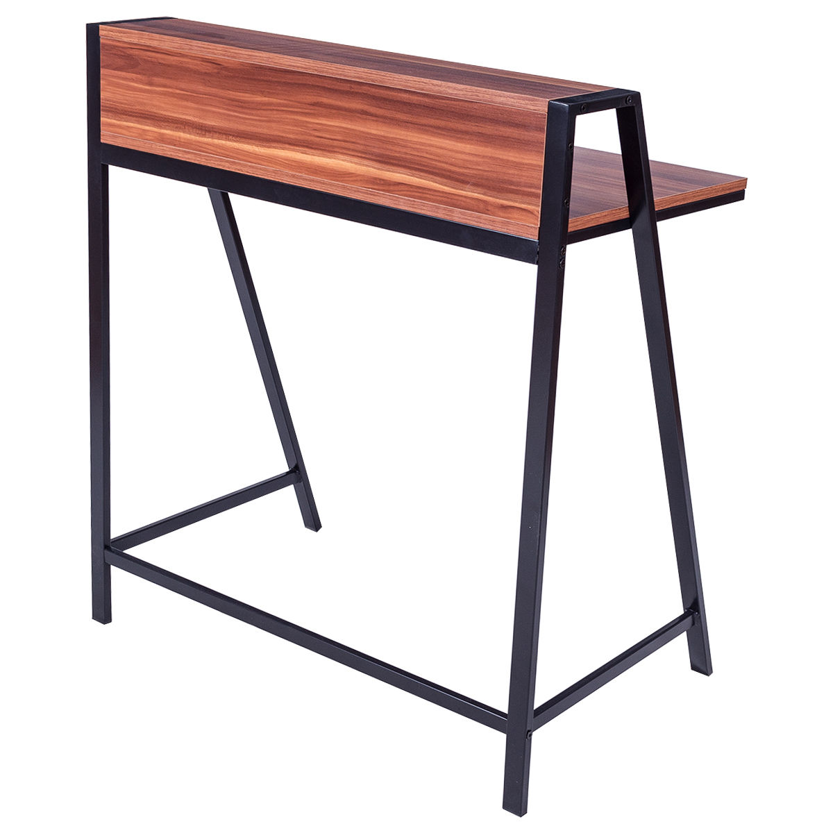 Giantex 2 Tier Computer Desk Modern PC Laptop Table Study Writing Wooden  Furniture Home Office Workstation HW55395 In Laptop Desks From Furniture On  ...