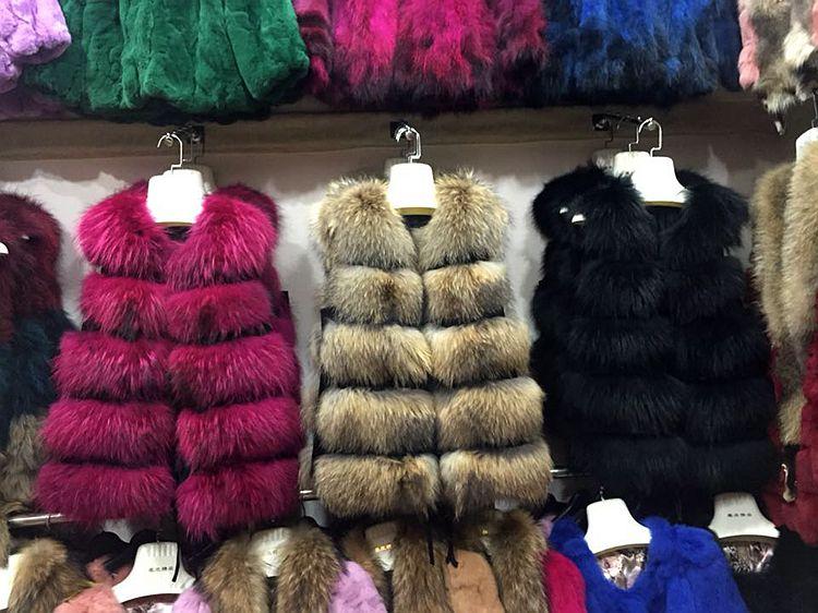 Véritable Outwear Longue De Fourrure Laveur S Raton Réel Mode Femmes Gilet 2xl Nouveau Yh119 Sexy qXdwKPpT