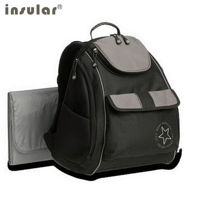 Insular diaper bag Backpack mummy portable multifunctional baby diaper  Nappy bags baby lady mummy maternity bag 95f76887803