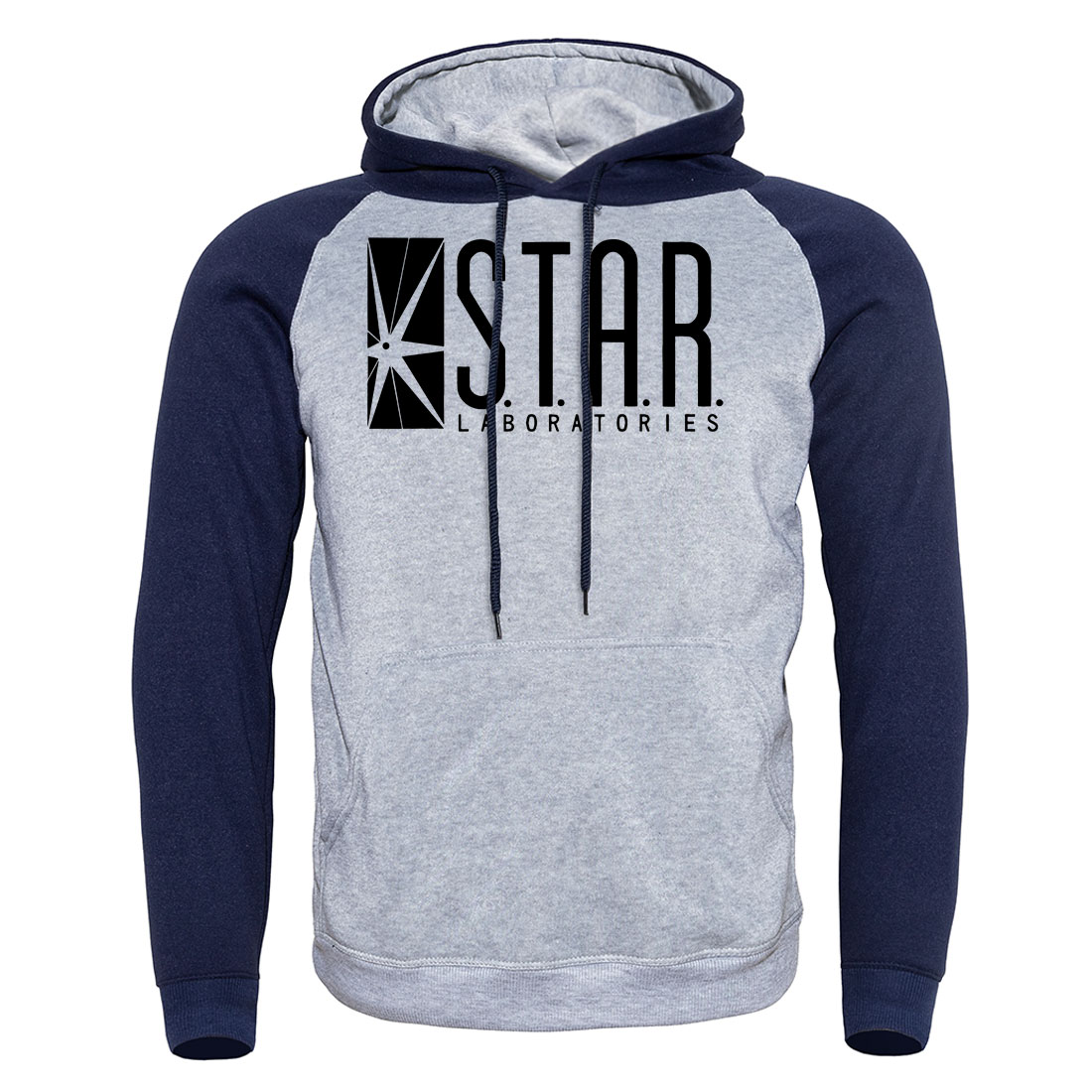 STAR S.T.A.R.labs Printed Fashion Casual Hoody For Men 2019 Autumn Sweatshirts  Raglan Hoodie Hoodies Men's Sportswear Pullover