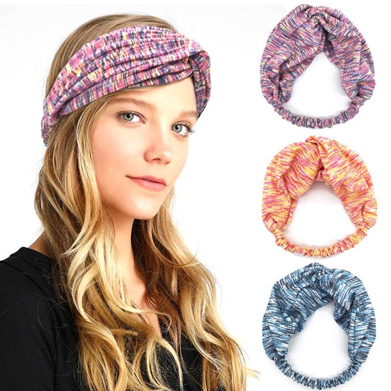 VTXWL Headband France Pattern Headwear Sport Sweatband Yoga Head Wrap for Men Women