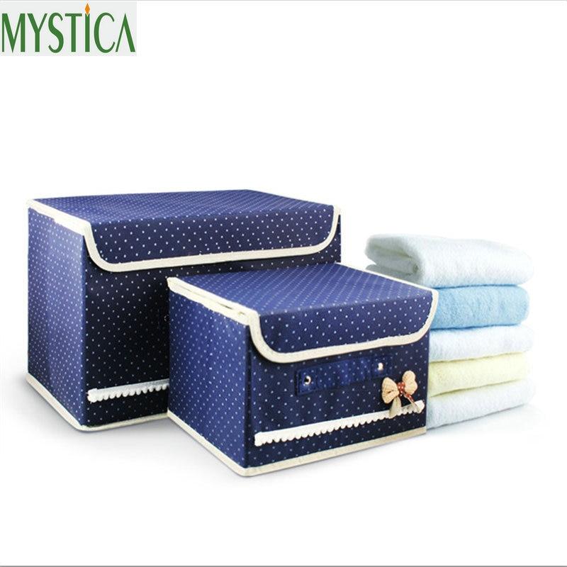 New Non Woven Fabric Folding Underwear Storage Box Bedroom: Aliexpress.com : Buy 2Pcs Hot Selling Non Woven Fabric