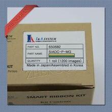 Original IDP inteligente impressora de cartões IDP ribbbon 650682 SIADC-P-MG Monocromático Ouro para uso com 30 S, 50 S cartão impressoras