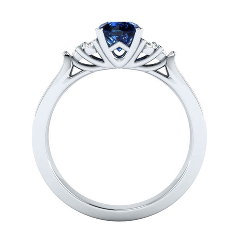 Luxury Wedding Engagement Zircon Rings For Women