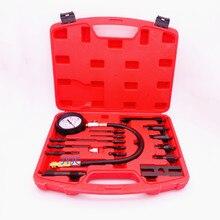 Kit de probador de compresión de vehículo de motor diésel, TU 15B, manómetro de cilindro, herramientas de prueba de diagnóstico de reparación automotriz