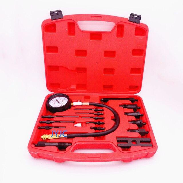 TU 15B Diesel Vehicle Engine Compression Tester Kit Cylinder Pressure Gauge Automotive Repair Diagnostic Testing Tools