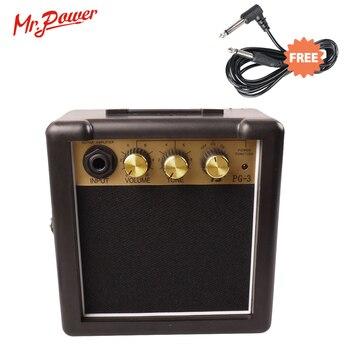Mini Electric Guitar Amp Portable Electrical Guitarra Amplifier Speaker 3W For Sale Amplificador ampli