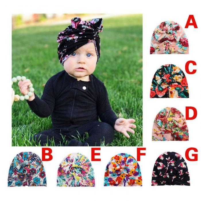 73d4e2d13b7 Cute Baby Velvet Hat Girls Boys Newborn Bohemia Style Bowknot Hats Spring  Autumn Cap Accessories H9