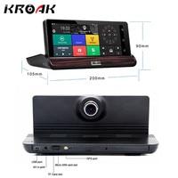 7 Inch Car DVR Camera Recorder 3G Android 5 0 Dashboard Car DVR GPS Navigation Video