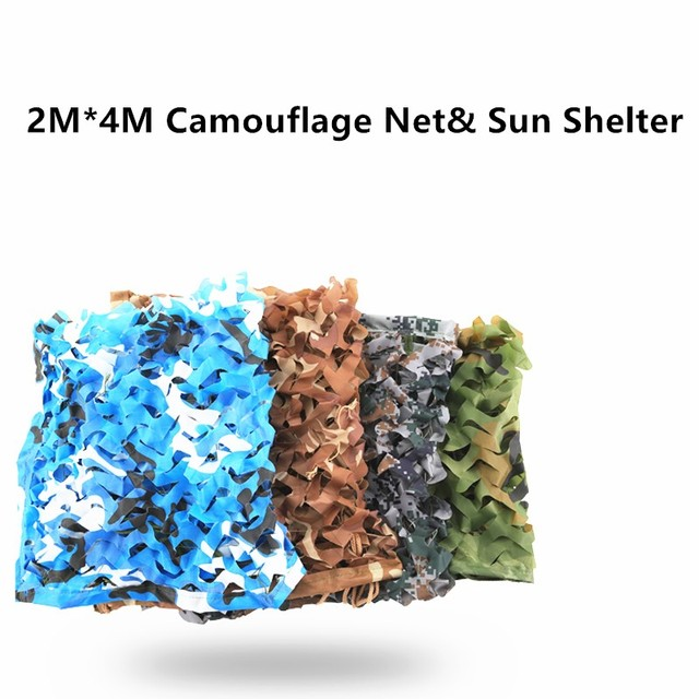 Hunting Military Camouflage Net Woodland Army Training Camo Netting Car Covers Tent Shade Camping Sun Shelter Awning Pergola