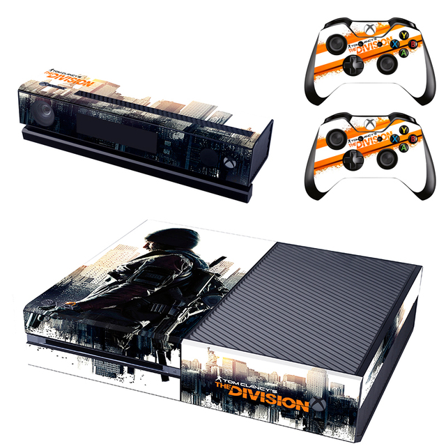 For Xbox one Sticker Tom Clancy's The Division Skin Decal for Xbox One  Console Kinect Controllers