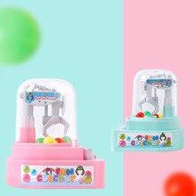 все цены на New Children's Mini-catch Doll Machine Twisted Egg Gripper Candy Boy Girl Desktop Toy Children Gift Toy Baby Toy онлайн