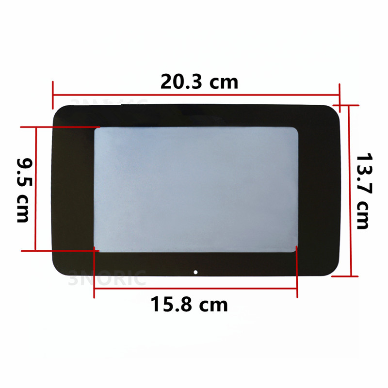 Image 5 - Car Central Navigation Screen Protection Panel Decorative Sticker For Mercedes Benz GLA X156 CLA C117 200 A B Class 180 2014 17-in Automotive Interior Stickers from Automobiles & Motorcycles