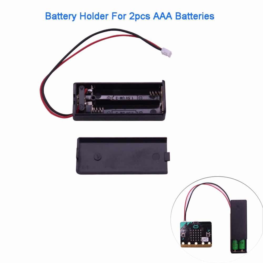 Для micro: bit microbit Батарейный держатель чехол Корпус для 2 шт. AAA батареи 3В PH2.0 Детский образовательный инструмент RCmall FZ3226