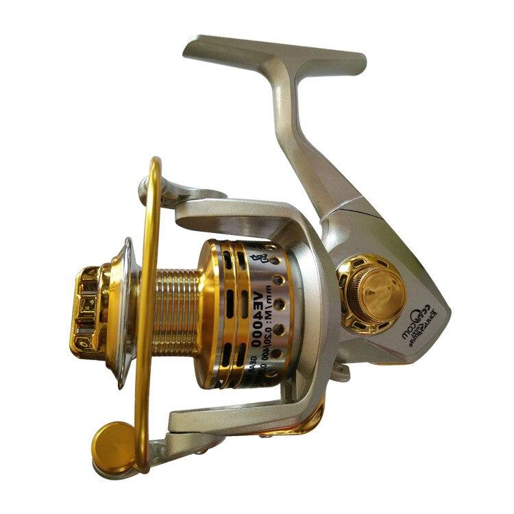 цена на Tokushima VE series metal caster gapless fishing reel 13+1 bearings spinning reel 6.2:1