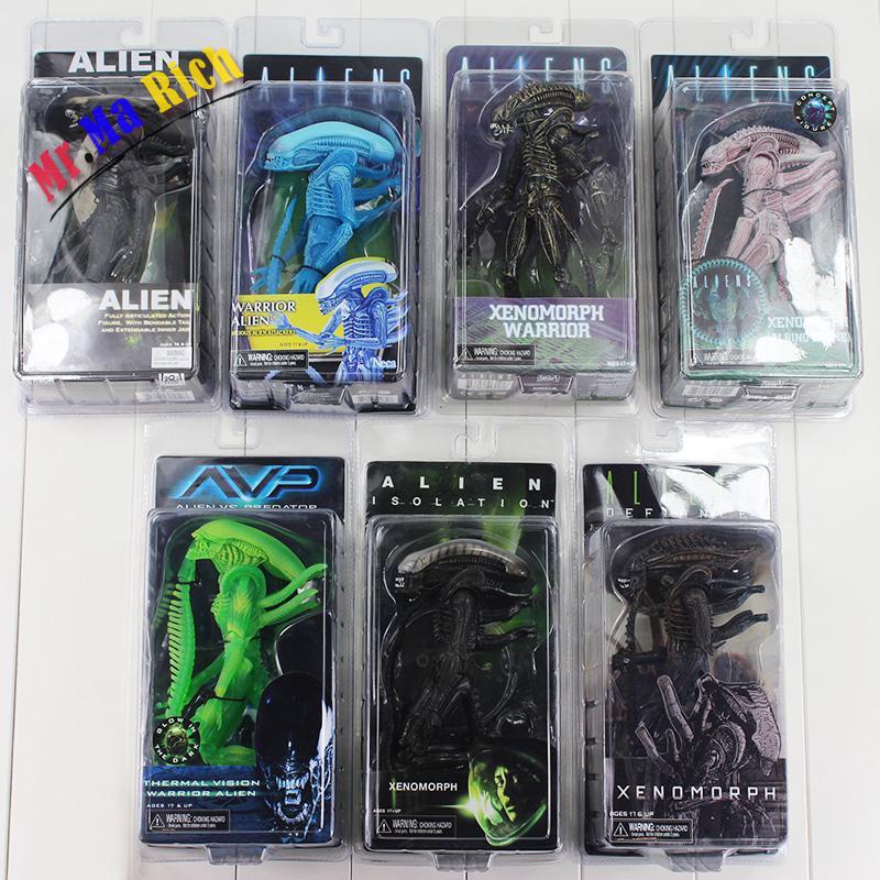 20cm Alien:isolation Covenant Avp Xenomorph Warrior Series Alien Vs. Predator Thermal Vision Pvc Action Figure Toy