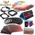 KnightX 24 Фильтр 9 Кольцо цвета cokin p серии набор Для nikon canon d3300 d3200 d5200 1200d nd 650d d7200 линзы 49 52 58 67 77 мм